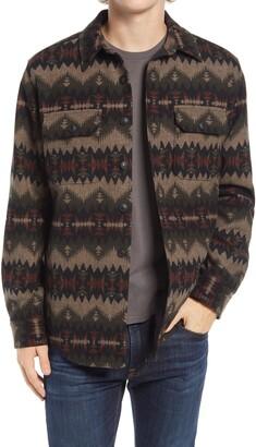 Pendleton Jacquard Wool Shirt Jacket