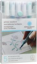 Martha Stewart 40-30023 Glitter Markers 4/pkg-cool Spectrum