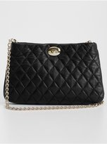 Quilted Leather Cross-Body Bag