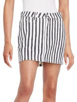 Marc by Marc Jacobs Striped Icon Mini Skirt
