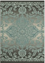 Maples Rugs Maples Iris Distressed Medallion Accent and Area Rug