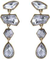 Sam Edelman Linear Stone Drop Earrings