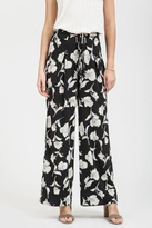 Blu Pepper Floral Pleated Pant