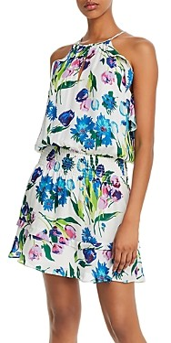 Parker Williame Printed Halter Dress