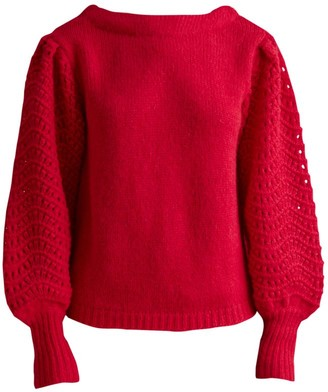 Merlette New York Somerset Puff-Sleeve Sweater