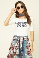 Forever 21 California 1980 Graphic Tee