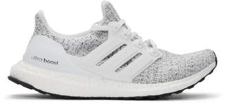 adidas White and Grey UltraBOOST Sneakers