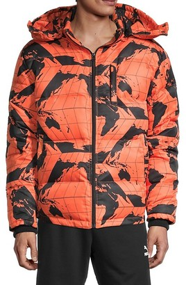 PRPS Plymouth Printed Puffer Jacket