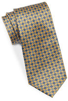 Black Brown 1826 Narrow Silk Tie