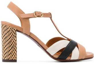 Chie Mihara High Block Heel Sandals