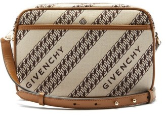 Givenchy Bond Chain-jacquard Canvas Camera Bag - Beige Multi