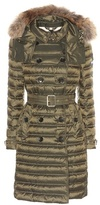 Burberry Chesterford Fur-trimmed Down Coat