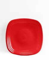 Fiesta Scarlet Square Salad Plate