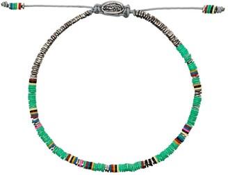 M. Cohen Drawstring Beaded Bracelet