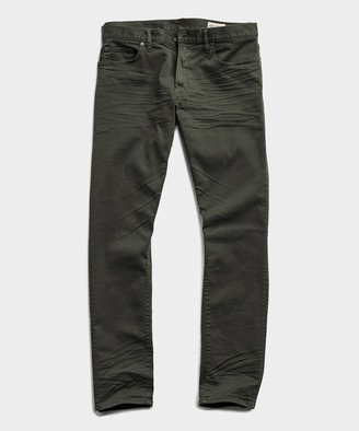 Todd Snyder Slim Fit 5-Pocket Chino In Peat
