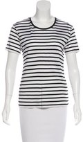 The Kooples Striped Knit Top