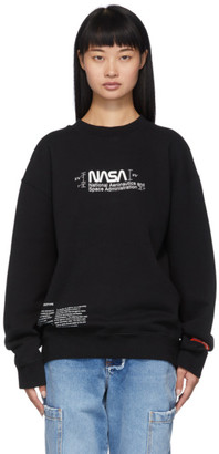 Heron Preston Black Manual Sweatshirt