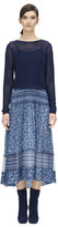 Rebecca Taylor Mesh Cropped Pullover