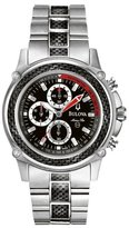 Bulova Men's Marine Star 96A002 Stainless-Steel Quartz Watch with Dial