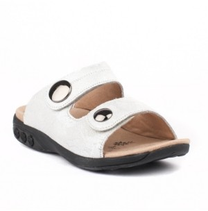 THERAFIT Shoe Eva Leather Adjustable Strap Slip On Sandal Women's Shoes