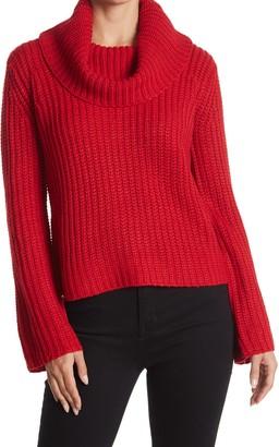 BB Dakota Love Actually Cowl Neck Knit Sweater