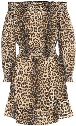 Veronica Beard Arcos cotton and silk minidress
