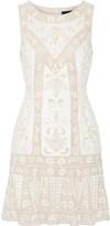 Needle & Thread Embellished chiffon mini dress