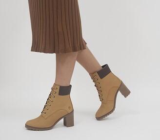 Timberland Allington 6 Inch Lace Boots Wheat