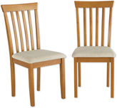 BUYLATERAL Benton Set of 2 Dining Chairs