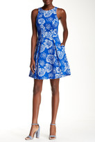 Yoana Baraschi Flora Fit & Flare Dress