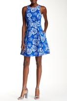 Yoana Baraschi Flora Fit & Flare Dress
