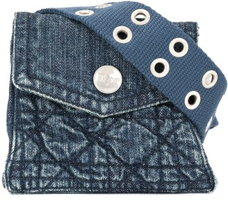 Christian Dior Pre-Owned Denim Belt Bag