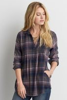 American Eagle Outfitters AE Ahh-mazingly Soft Pintucked Shirt