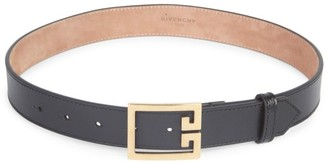 Givenchy Skinny Leather Belt