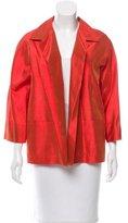 Max Mara Silk Iridescent Jacket