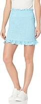 BCBGeneration Women's Smocked Woven Mini Skirt