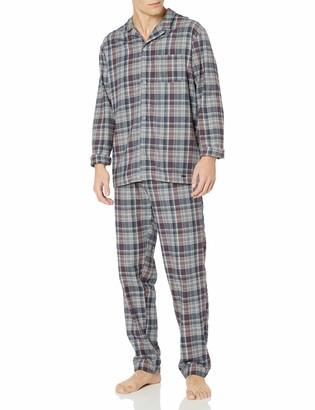 Hanro Men's Thilo Woven Long Sleeve Pajama Set