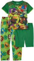 Nickelodeon Ninja Chop Tee 3 Piece Set (Kid) - Green - 6
