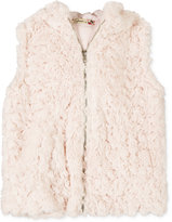 Speechless Girls' Faux-Fur Vest, Big Girls (7-16)