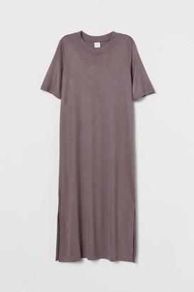 H&M Jersey Dress - Purple