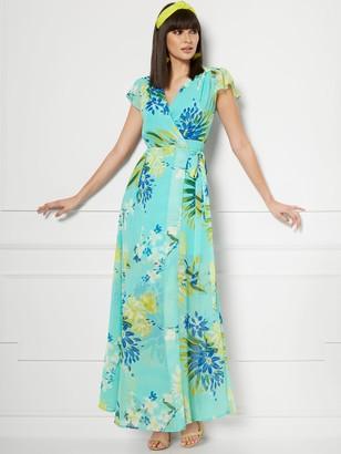 New York & Co. Allison Wrap Maxi Dress - Eva Mendes Collection