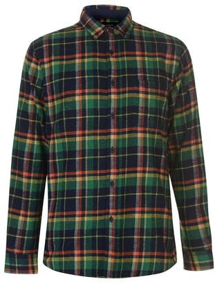 Pierre Cardin Long Sleeve Check Shirt Mens