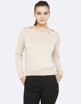 Oxford Cassandra Cut Out Knit