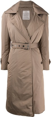 Brunello Cucinelli Padded Belted Long Coat