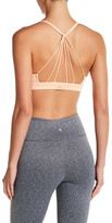 Alo &Sunny Strappy& Soft Cup Bralette