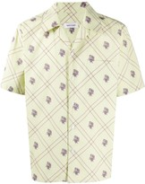 Ernest W. Baker short sleeve floral print shirt