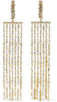 Suzanne Kalan 18-karat Gold Diamond Earrings - one size