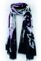 Oakley Finch Black And Pink Print Scarf, Gift Box And Card
