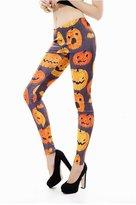 Dasbayla Women Cool Printed Costume Skulls and Bones Slim Fit Leggings Tights Stretch Pant