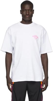 GCDS White Tropical Taste T-Shirt